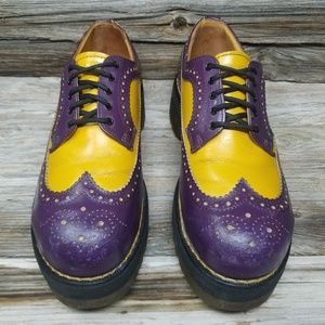 Made in England Vintage Dr Martens Unisex Oxfords